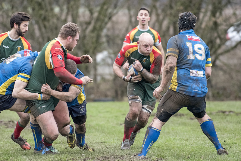 The Halbro NW Leagues Div. 3 South Knutsford 1st XV 27 pts v 39 pts Sandbach 3rd XV Pictures by Mr. Bill Hartley