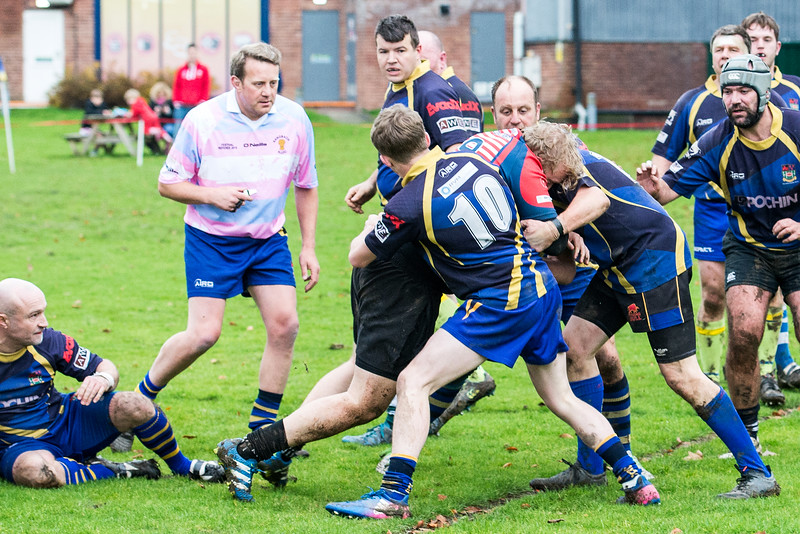Holmes Chapel 2nd XV 18 pts v 10 pts Oldham 3rd XV Pictures by Bill Hartley