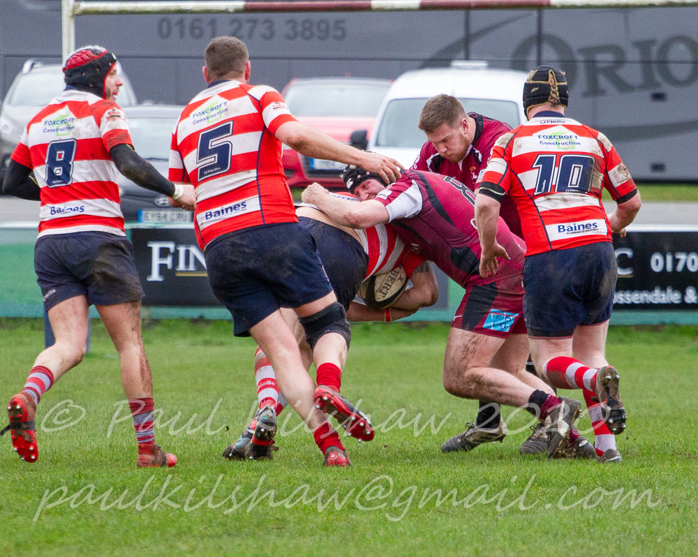 Robinsons Brewery Cup Comp. Rossendale 2nd XV 51 pts v 14 pts Vale of Lune 2nd XV Pictures by Paul Kilshaw
