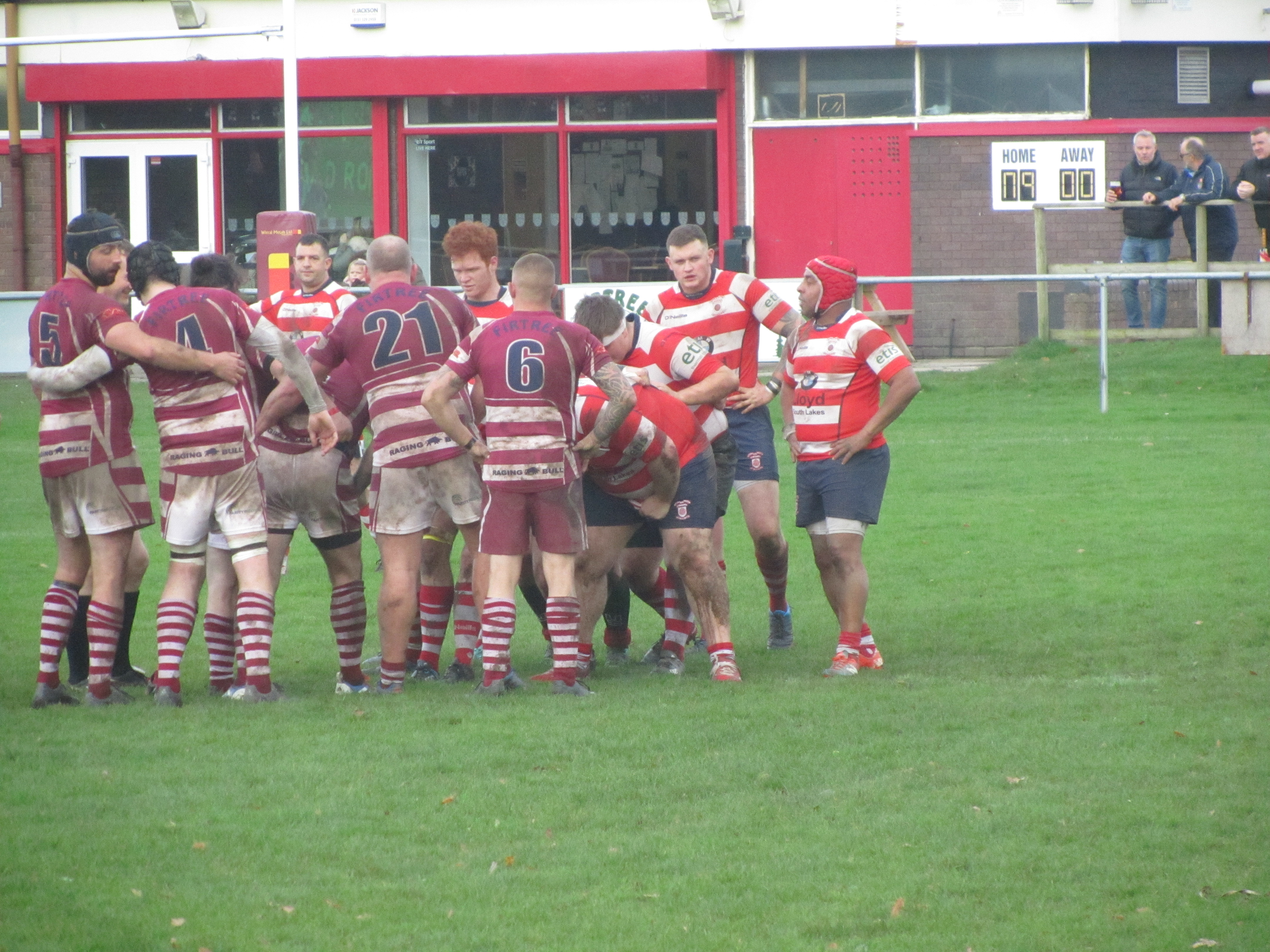 Wirral 2nd XV 12 points v 0 points Vale of Lune 2nd XV