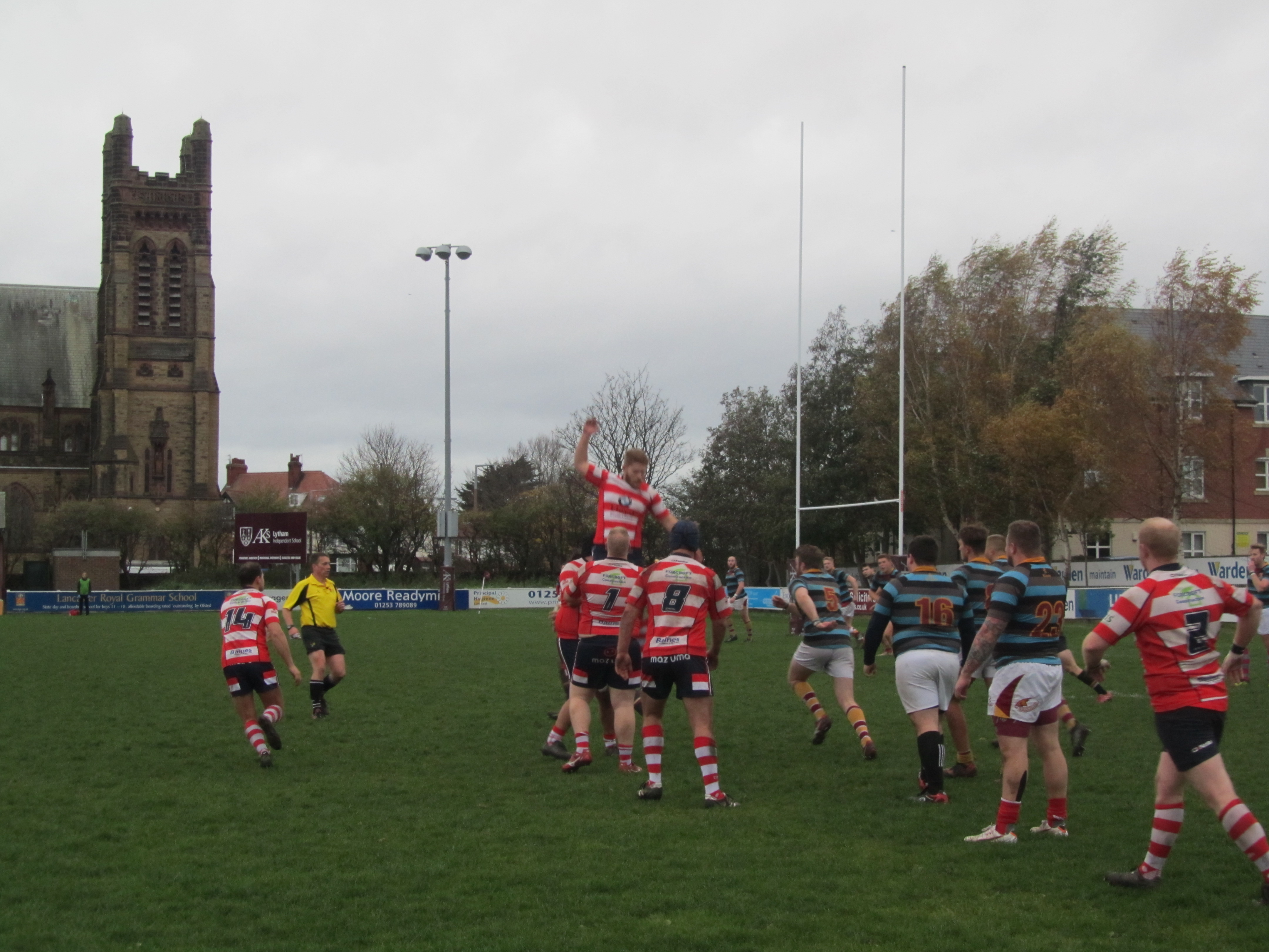 Fylde 2nd XV 55 pts v 10 pts Vale of Lune 2nd XV Incorrect data type for operator or @Function: Time/Date expected
