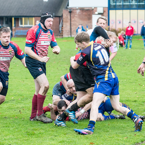Division 5 West 23rd November Holmes Chapel 2 18 pts v 10 pts Oldam 3rd XV Pictures by Bill Hartley