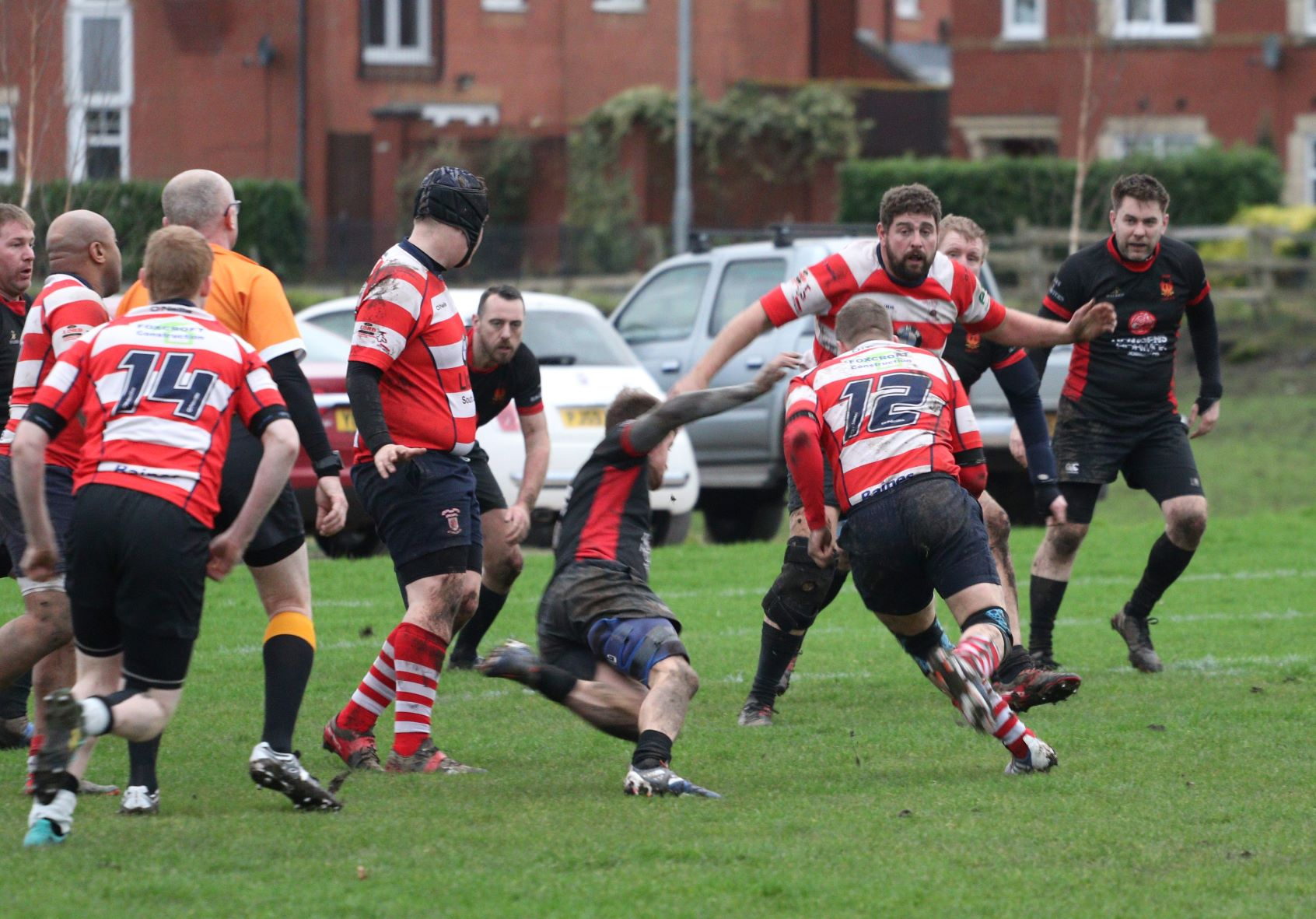 James Trickett & Son Division 4 North Lostock 1st XV 40 pts v 0 pts Vale of Lune 3rd XV Pictures by Leon Wall